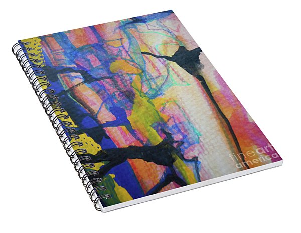Abstract-3 Spiral Notebook
