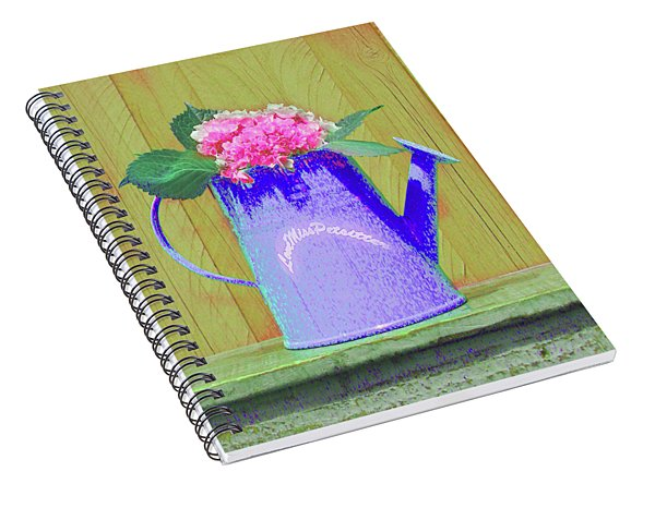 Abstract Floral Art 342 Spiral Notebook