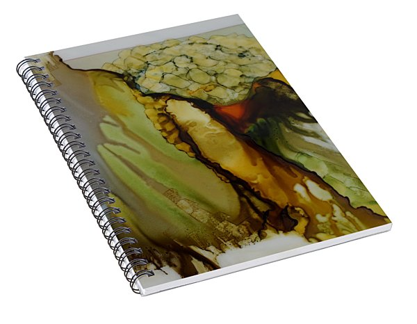Abstract X Spiral Notebook