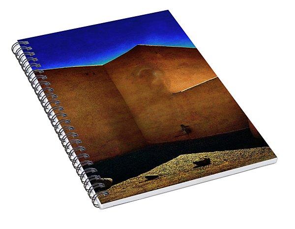 Adobe Church II Spiral Notebook