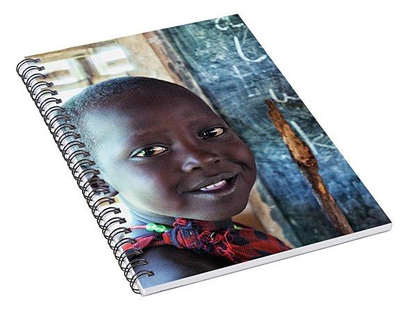 Maasai School Child Spiral Notebook
