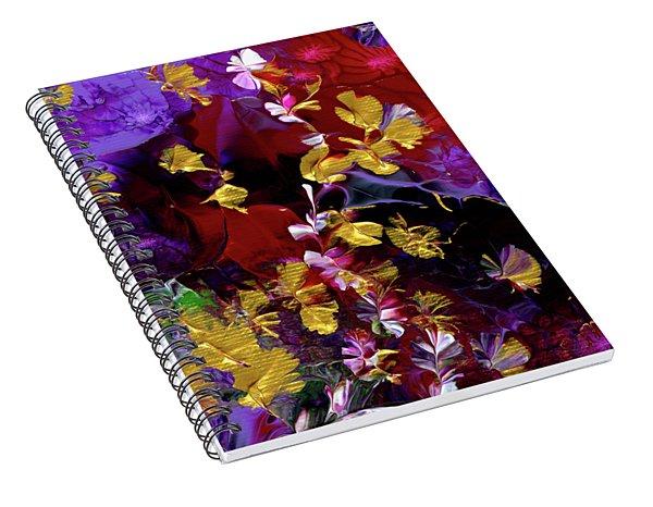 African Violet Awake #3 Spiral Notebook