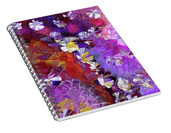 African Violet Awake #5 Spiral Notebook