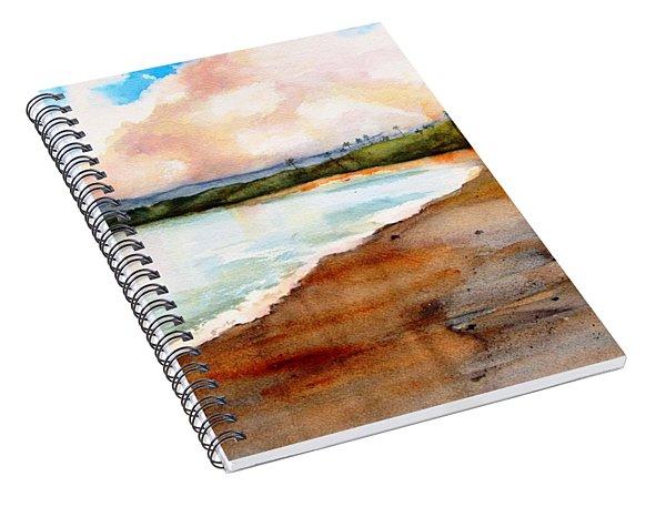 Aganoa Beach Savai'i Spiral Notebook