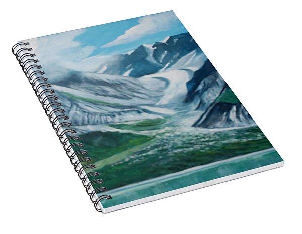 Alaska Glacier Bay Park Spiral Notebook
