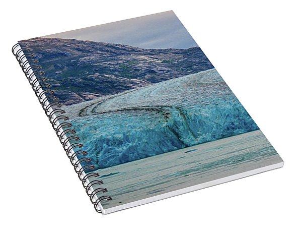 Alaska Glacier Spiral Notebook