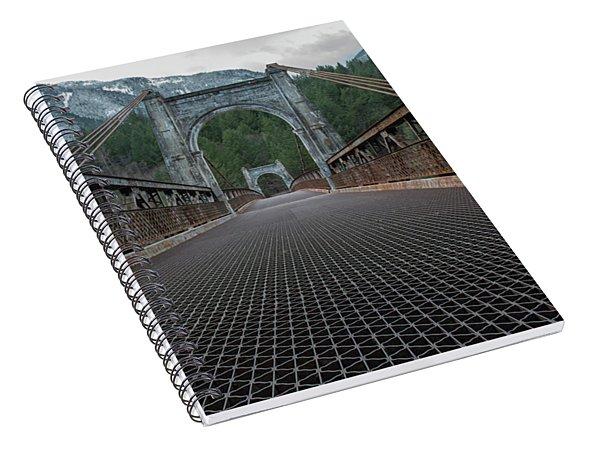 Alexandra Bridge Low View Spiral Notebook