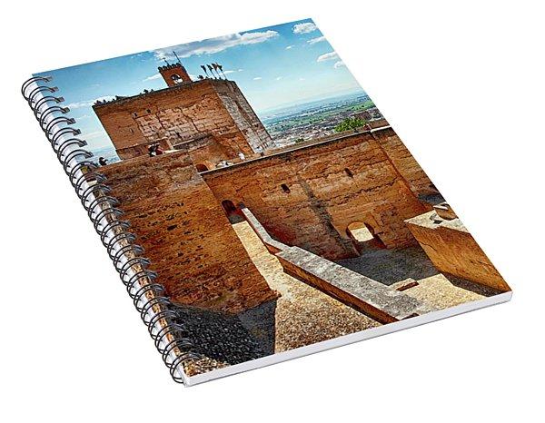 Alhambra Tower Spiral Notebook