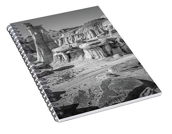 Alien Badlands Spiral Notebook
