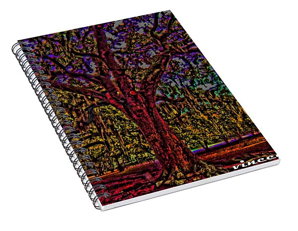 Alive Oak Spiral Notebook