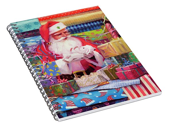 All Wrapped Up Spiral Notebook