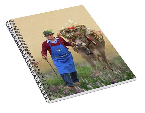Almabtrieb Spiral Notebook