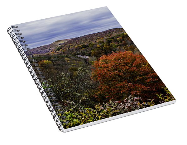 Along The Blue Ridge Parkway Spiral Notebook