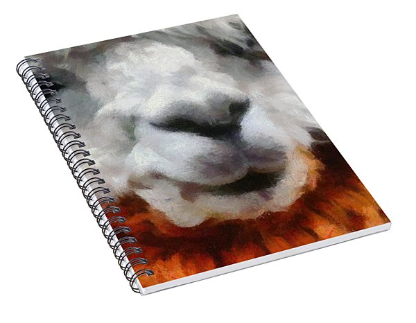 Alpaca Spiral Notebook