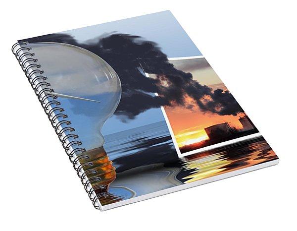 Alternative Energy Spiral Notebook