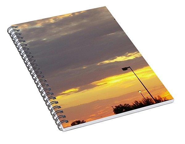 Patriotic Sunset Spiral Notebook