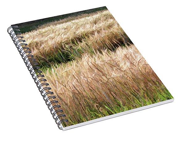 Amber Waves -  Spiral Notebook