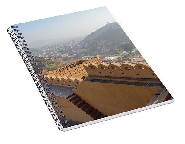 Amer Fort 02 Spiral Notebook