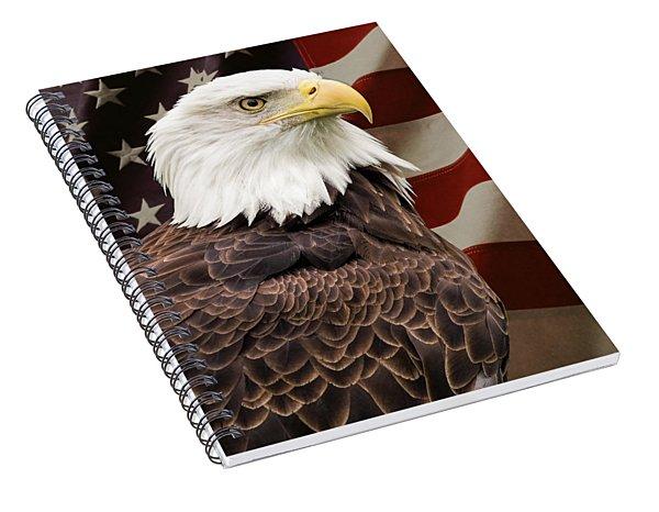 American Freedom Spiral Notebook