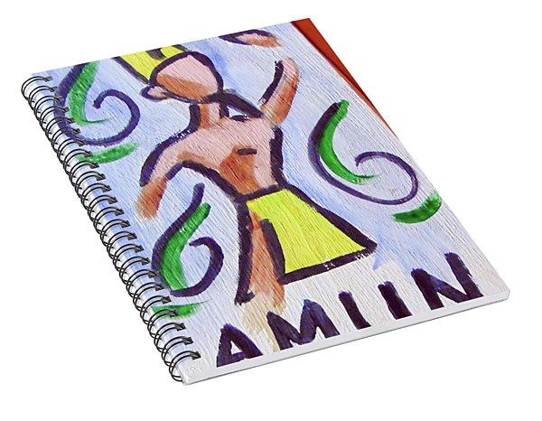 Amun Spiral Notebook