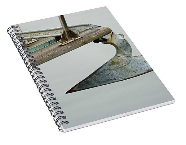 Sailboat Anchor Spiral Notebook