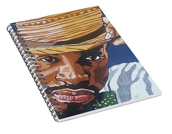 Andre Benjamin Spiral Notebook