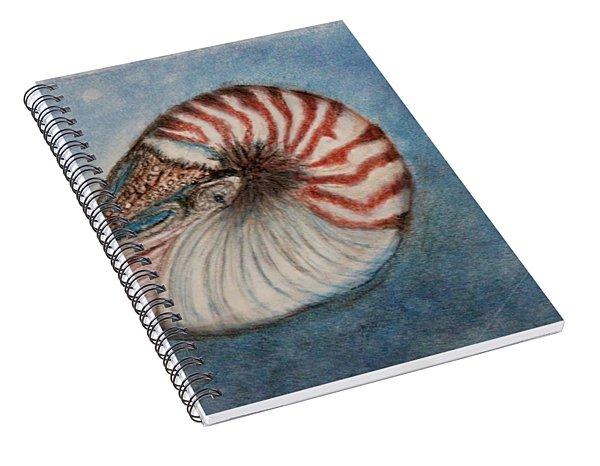 Angel's Seashell  Spiral Notebook