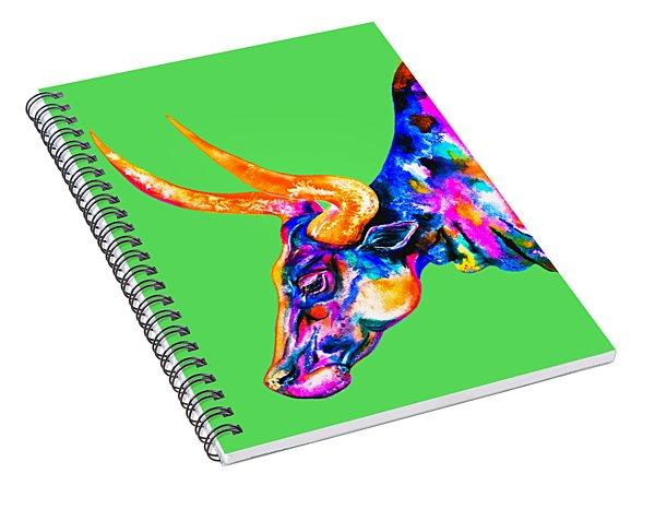 Ankole Longhorn Spiral Notebook