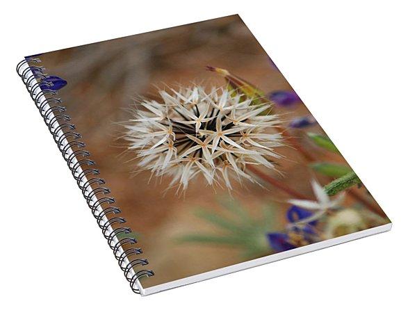Another White Flower Spiral Notebook