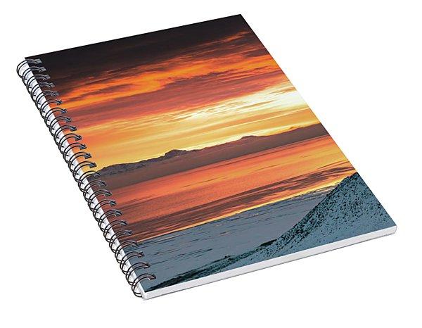 Antelope Island Sunset Spiral Notebook