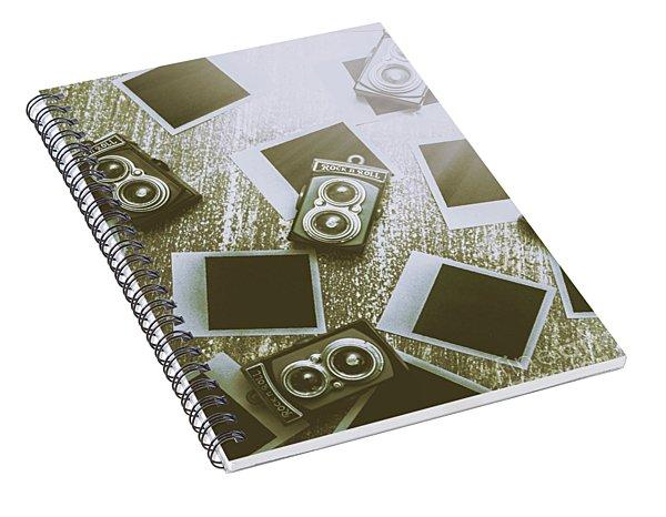 Antique Film Photography Fun Spiral Notebook