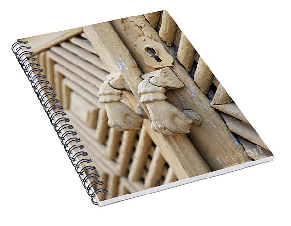 Antique Mediterranean Door-knocker Spiral Notebook