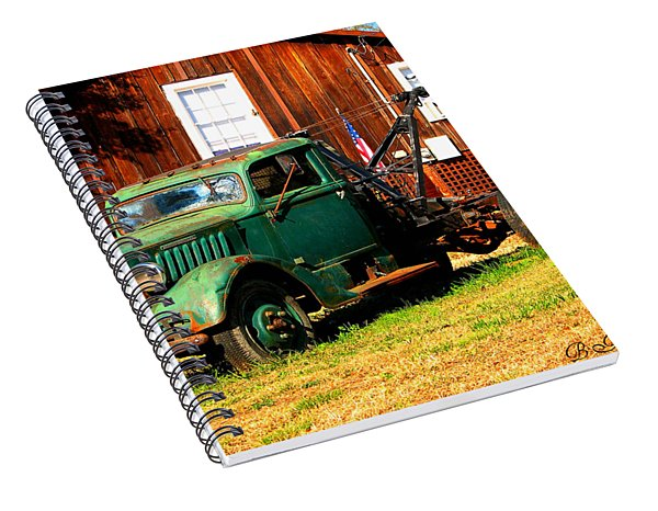 Antique Tow Truck Spiral Notebook