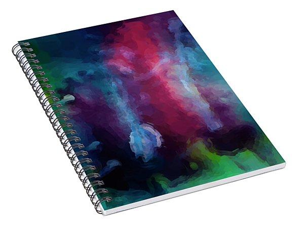Apparitions  Spiral Notebook