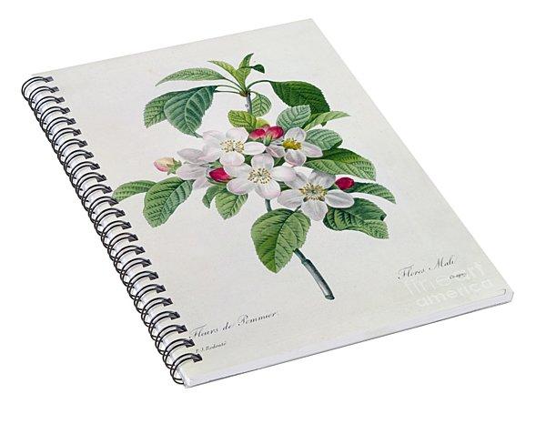 Apple Blossom Spiral Notebook