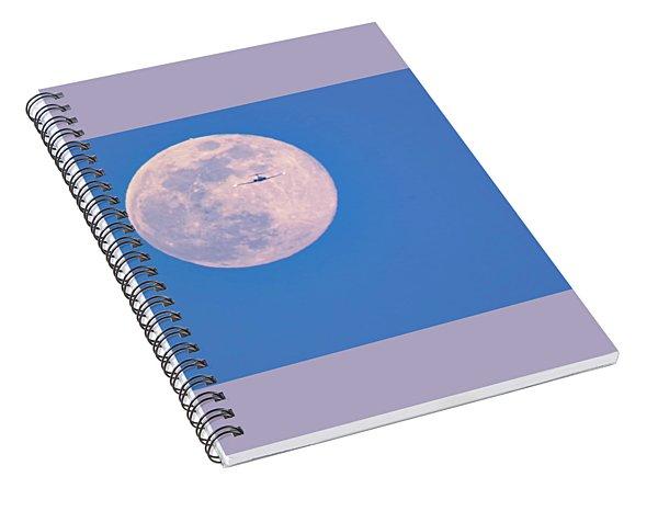 Approaching Minneapolis Spiral Notebook