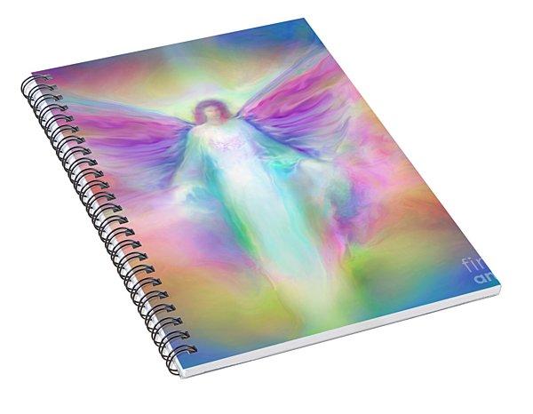 Archangel Raphael Healing Spiral Notebook
