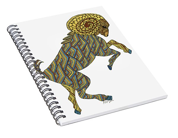 Aries Spiral Notebook