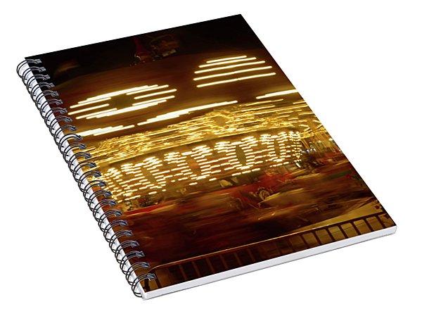 Arizona State Fair Carousel October 26, 2017 Spiral Notebook