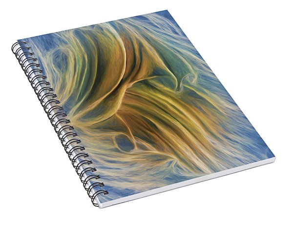 Arrhythmia And Blues Spiral Notebook