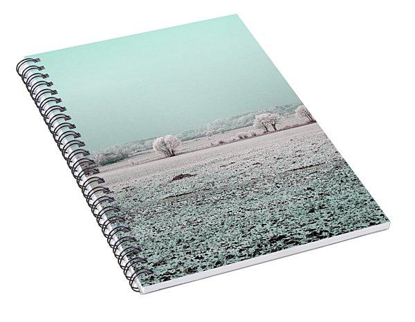 Art Print Winterland 03 Spiral Notebook