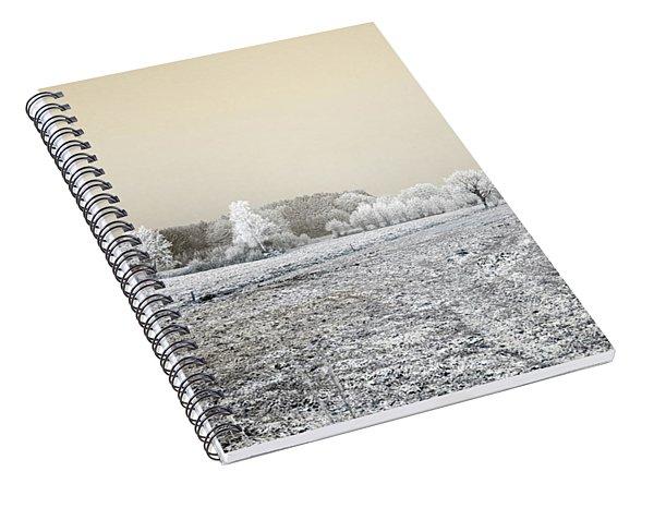 Art Print Winterland 07 Spiral Notebook