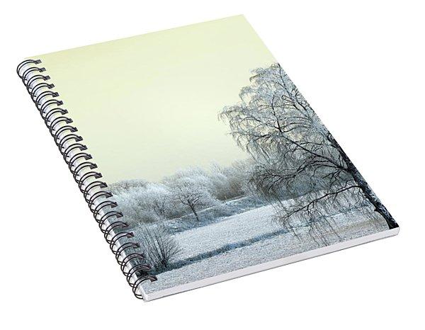 Art Print Winterland 14 Spiral Notebook
