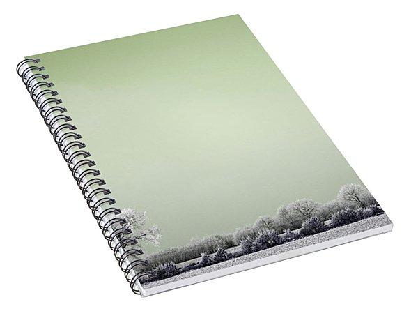 Art Print Winterland 16 Spiral Notebook