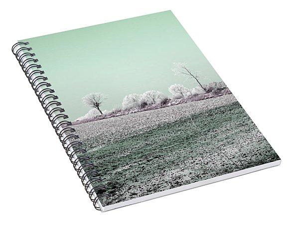 Art Print Winterland 21 Spiral Notebook