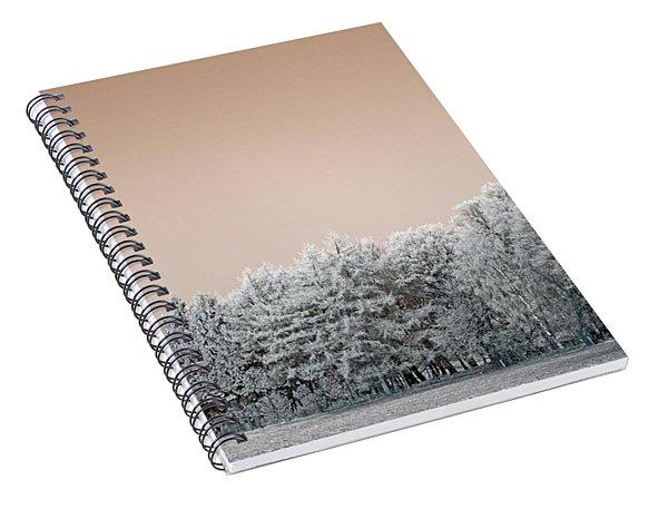 Art Print Winterland 26 Spiral Notebook