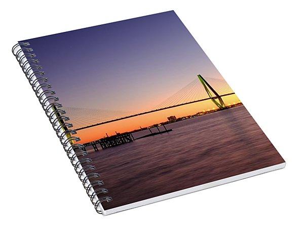 Arthur Ravenel Jr. Bridge Spiral Notebook