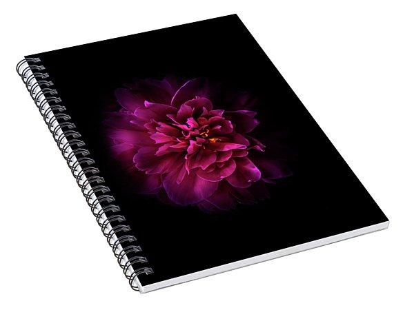 Backyard Flowers 55 Color Version Spiral Notebook