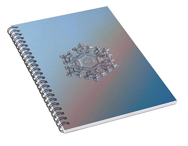 Real Snowflake - 05-feb-2018 - 1 Spiral Notebook