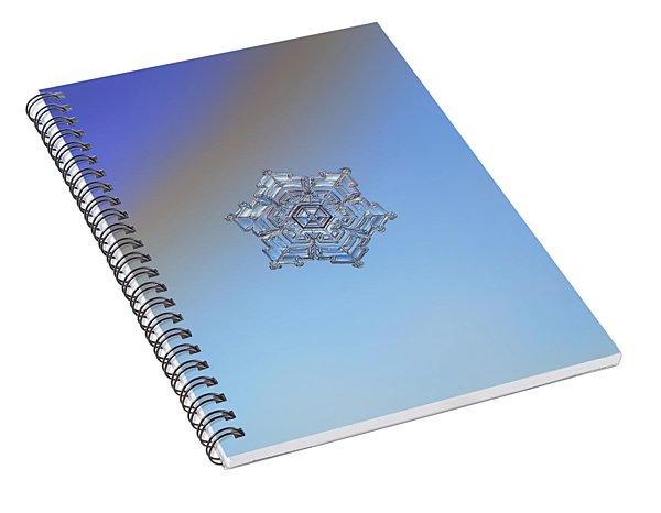 Real Snowflake - 05-feb-2018 - 2 Spiral Notebook